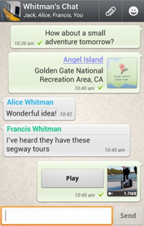 WhatsApp Sniffer App v1 03 for Android
