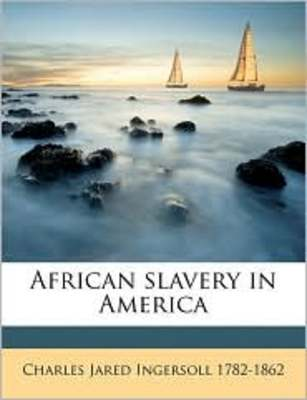 Pay for African Slavery In America