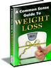 common sense guide to weight loss