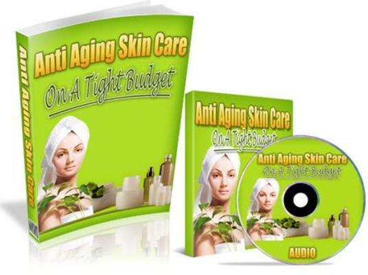 Pay for Anti Aging Skin Care on a Budget Package