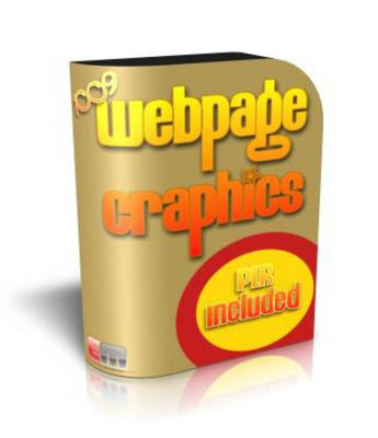 Pay for 1009 Webpage Graphics with Master Resale Rights