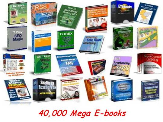 Pay for 40 000 Ebooks