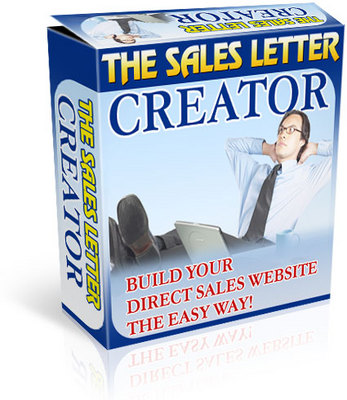 Pay for *NEW!* Sales Letter Creator -JUST 1 USD - With MRR