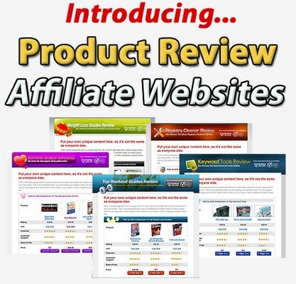 Pay for *HOT* Product Review Affiliate WebSites -MRR- JUST 7  USD