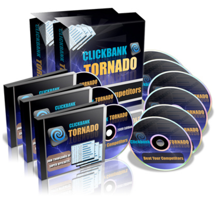 Pay for Clickbank Tornado - Just 5 USD