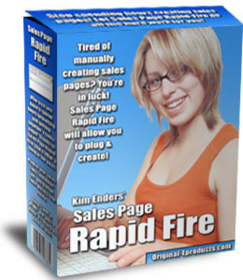 Pay for Sales Page Rapid Fire - Just 5 USD -with MRR