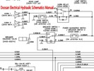 Thumbnail Doosan DH130W Excavator Electrical Hydraulic Schematics Manual INSTANT DOWNLOAD