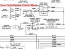 Thumbnail Doosan DX055 Excavator Electrical Hydraulic Schematics Manual INSTANT DOWNLOAD