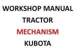 Thumbnail Kubota Mechanism Service Repair Workshop Manual INSTANT DOWNLOAD