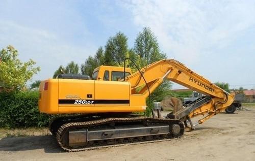 Free Hyundai R250LC-7 Crawler Excavator Service Repair Factory Manual INSTANT DOWNLOAD  Download thumbnail
