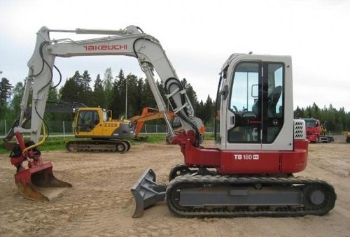 Free Takeuchi TB180FR Hydraulic Excavator Service Repair Factory Manual INSTANT DOWNLOAD  Download thumbnail