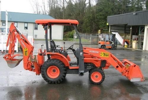 kubota b26 tractor loader backhoe illustrated master parts manual i rh tradebit com Kubota B26 Specs Kubota B26 Backhoe