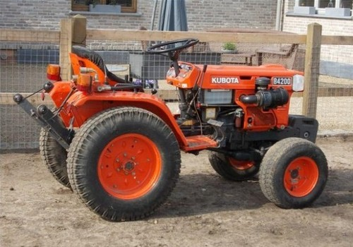 Kubota Tractor Spare Parts : Kubota b d tractor illustrated master parts manual