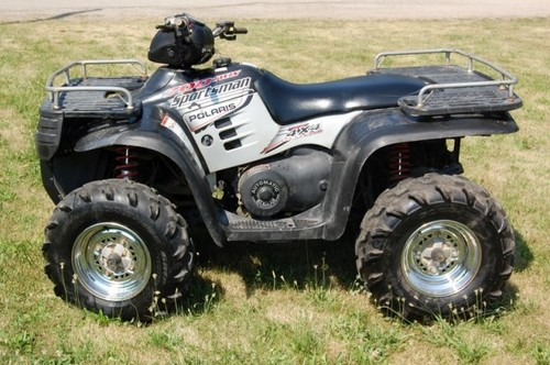 polaris sportsman 600 700 service manual repair 2002. Black Bedroom Furniture Sets. Home Design Ideas