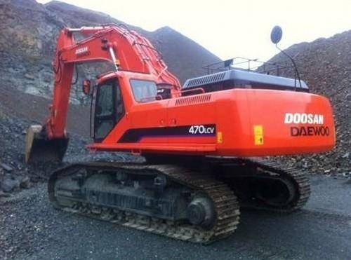 Free Daewoo Doosan Solar 470LC-V Excavator Service Repair Shop Manual INSTANT DOWNLOAD  Download thumbnail