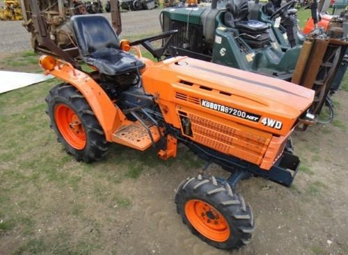 kubota b6200hst b7200hst tractor service repair factory