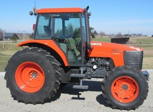 Kubota Tractor Repairs : Kubota m s tractor service repair factory manual