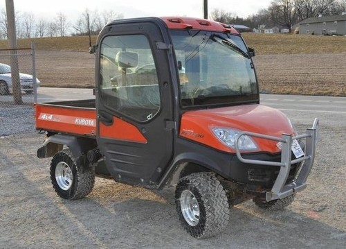 Kubota Rtv1100 Utility Vehicle Utv Service Repair Factory
