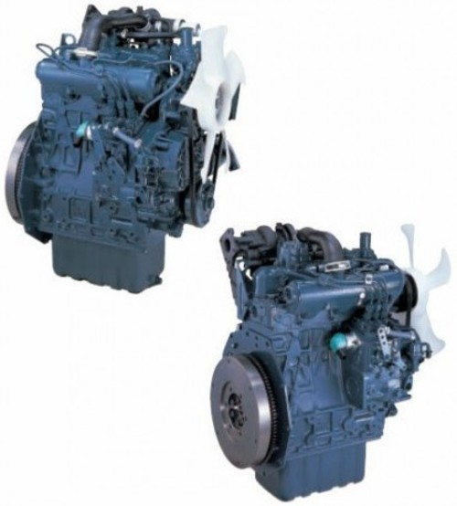 Kubota V1305 Diesel Engine : Kubota v e b t diesel engine service repair