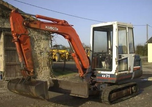 Pay for Kubota KX71 Excavator Illustrated Master Parts Manual INSTANT DOWNLOAD