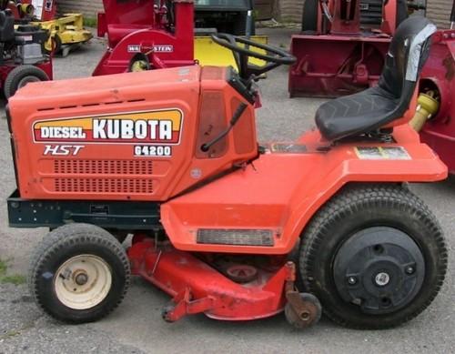 kubota g3200 g4200 g4200h g5200h g6200h lawn garden tractor operato rh tradebit com J. C. Bamford kubota g5200 wiring diagram