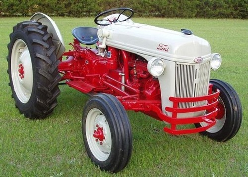 1946 8n Ford Tractor : Ford n tractor manual