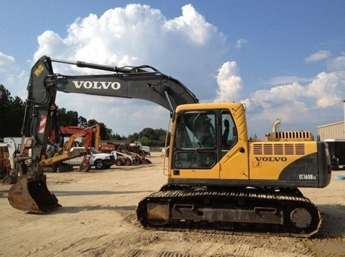 Pay for Volvo EC160B LC, EC160B NLC (EC160BLC EC160BNLC) Excavator Service Parts Catalogue Manual INSTANT DOWNLOAD  SN: 10001 - 12000