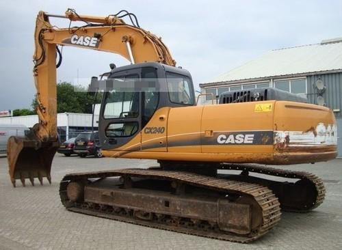 Pay for CASE CX210 CX230 CX240 Crawler Excavator Service Repair Manual INSTANT DOWNLOAD