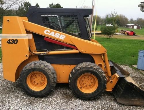 Case 430 Tractor Parts : Case skid steer loader service parts catalogue manual