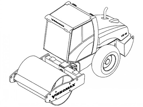 jcb vibromax vm46 single drum roller service repair manual. Black Bedroom Furniture Sets. Home Design Ideas