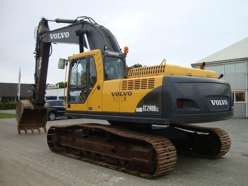 volvo ec290b lc ec290blc excavator service repair manual instant rh tradebit com Volvo EC 290 Excavator Spec Volvo 290 Excavator