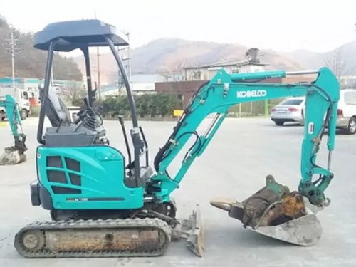 kobelco sk16 sk17 mini excavator parts manual instant download sn pf03 03001 and up