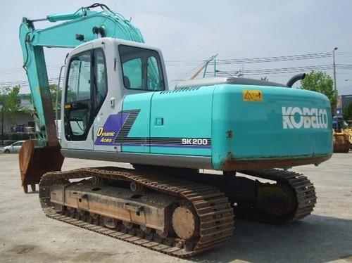 kobelco sk200 sk200lc hydraulic excavator parts manual instant down rh tradebit com Used Excavators Kobelco SK200 Mark IV