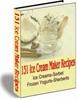 Thumbnail 131+ ICE CREAM MAKER RECIPES SORBET SHERBERT RECIPES + MORE