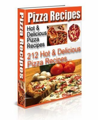 Pay for HUNDREDS OF HOT AND DELICIOUS PIZZA RECIPES