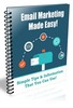Thumbnail Email Marketing Made Easy with Plr + salespage