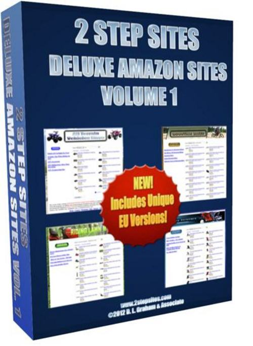 Pay for 2 Step Sites Deluxe Amazon Sites Volume 1 + Bonuses