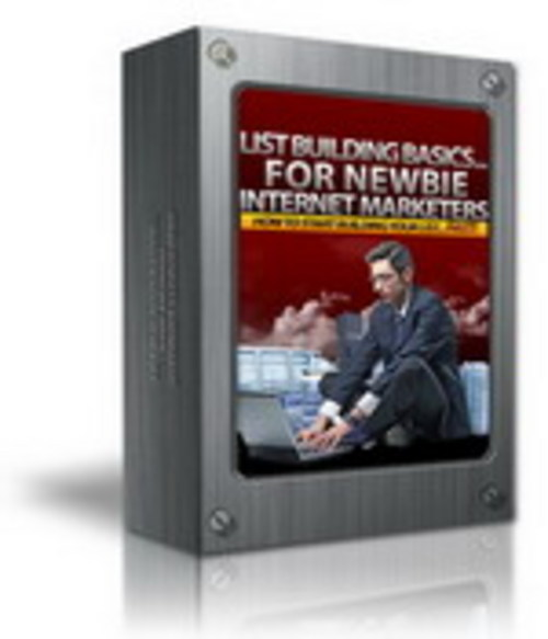 Pay for LIST BUILDING BASICS FOR NEWBIE INTERNET MARKETERS w/Master