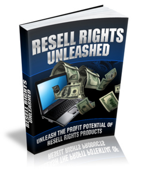 Pay for Resell Rights Unleashed w/Master Resell Rights