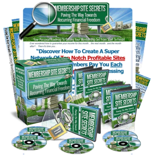 Pay for Membership Site Secrets Video Package w/MRR
