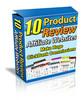 Thumbnail 10 Premium Affiliate Review Sites w/MRR