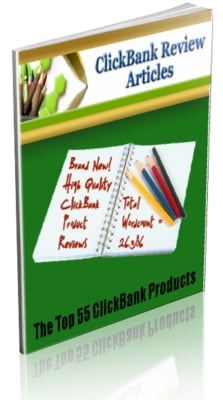 Pay for 55 Clickbank Top Product PLR Review Articles