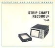 Thumbnail HP 7155B Strip Chart Recorder Operating and Service Manual