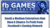 Thumbnail Facebook Game Wholesaler MRR