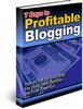 Thumbnail 7 Days To Profitable Blogging PLR