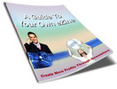 Thumbnail A Guide To Your Own eZine PLR