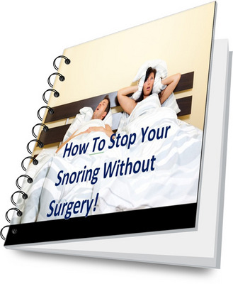 Pay for How to Stop Your Snoring WITHOUT Surgery! PLR