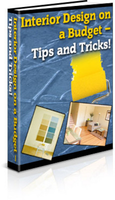 Interior design on a budget how to tips and tricks plr - Interior painting tips and tricks ...
