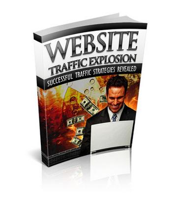 Pay for Website Traffic Explosion PLR