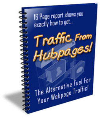 Pay for Traffic From Hubpages eBook PLR